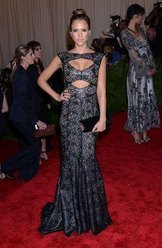 Vestidos de fiesta en la Gala MET 2013 #vestidos #invitadas
