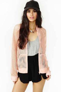 This mesh jacket is an old style brought back for 2014! What mesh item will you be wearing this year?