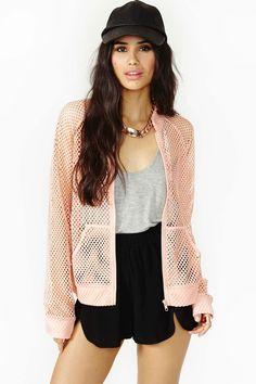 This mesh jacket