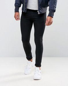 New Look | Vaqueros muy ajustados en negro de New Look