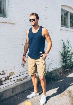 Red White And Blue For Dudes Men S Summer Outfitsmens Casual