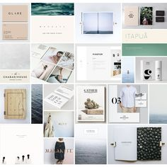 Coastal moodboard by Smack Bang Designs