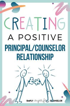 The principal/counselor relationship is one of the most important relationships when it comes to effectively producing change within the school environment. It can contribute to student achievement and overall success. Keep reading to see five effective things you can start doing to build a strong relationship now. Elementary School Counselor, School Counseling, Elementary Schools, Leadership Activities, Art Activities, Strong Relationship, Relationships, Guidance Lessons, Dealing With Stress