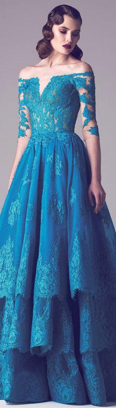 Fabulous Tulle & Satin Off-the-shoulder Neckline A-Line Evening Dresses With Lace Appliques