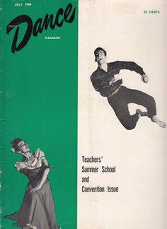 July 1949 Dance Magazine Articles Ballet Theatre Savage Splendor Kathryn Lee