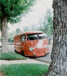 VW Van classic Love this color