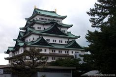 Japanese castles I've visited: #65 Nagoya Castle in Aichi Prefecture. Although it's reconstructed, I'm in love with the main tower. I went during o-bon, so the castle was open at night as well and there was a festival on the castle grounds.