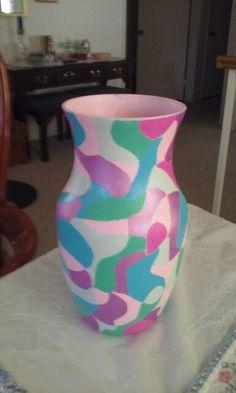 Alanah's Vase made by Grandma