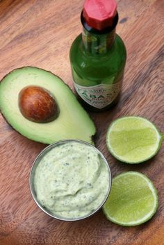 Avocado and cilantro mayonnaise sauce – Laylita's Recipes Avocado Recipes, Veggie Recipes, Mexican Food Recipes, Vegetarian Recipes, Cooking Recipes, Healthy Recipes, Sauce Recipes, Love Food, Food Porn