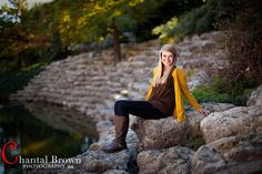 Gorgeous stone stairways to river.  Stockyard River in Ft Worth Texas.  By Dallas Senior Portrait Photography Chantal Brown Photography.  www.chantalbrownphotography.com