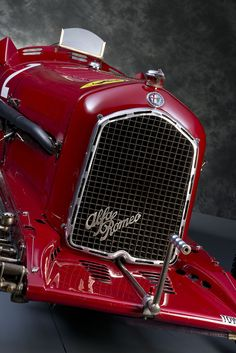 ALFA ROMEO P3 TIPO B 1934 2.9 litre models, the previous P3s displacing 2.6 litres. These were built in limited numbers and reputedly sold new only to Italian customers, so as to make them available...