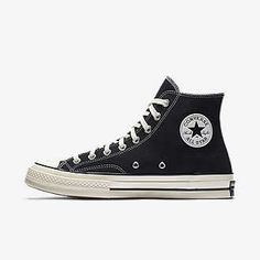 6f27f6cb986a15 Mens Converse Chuck Taylor All Star 70 High Top Black Egret White