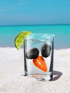 so cute if you plan to be on a beach @ Christmas time! Melted Snowman Ice Cubes… my aunt would do this to be mean Tropical Christmas, Beach Christmas, Christmas In July, All Things Christmas, Winter Christmas, Holiday Fun, Christmas Gifts, Holiday Ideas, Christmas Ideas