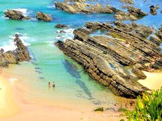 Beautifull Alentejo coast. Portugal