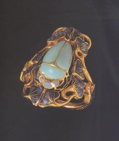 "Rene Lalique ""Beetle"" ring."