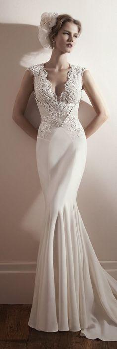 Lihi Hod 2013 Bridal Collection   bellethemagazine.com