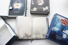 "Gave? ""Like a Dream"" 1pc Journal Notebook Lock Box Diary Cute Stationery Gift Package"