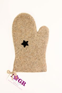 Wool Felted Oven Mitt solid color You choose the color by IStarGR, $20.00