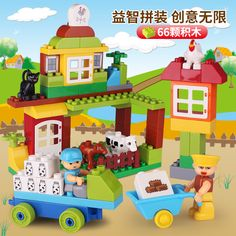 Demeter came to visit the harvest rangeland where everyone was busy and happy. However, the hen who was incubating her babies just caught a cold. She needed a break for a while. Then who would be the best choice to take care of the babies for her? Let's see Demeter's decision together! #buildingblock #toys