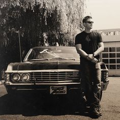 Want this baby... both of them ♥ ♥ :) || Dean Winchester #Impala #JensenAckles #67Impala