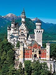 Schloss Neuschwanstein...Disney's inspiration for the Cinderella Castle