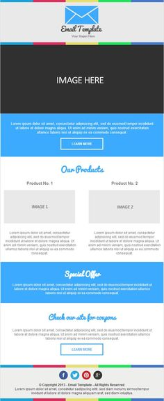 Free Responsive Email Template - Part I Responsive Email
