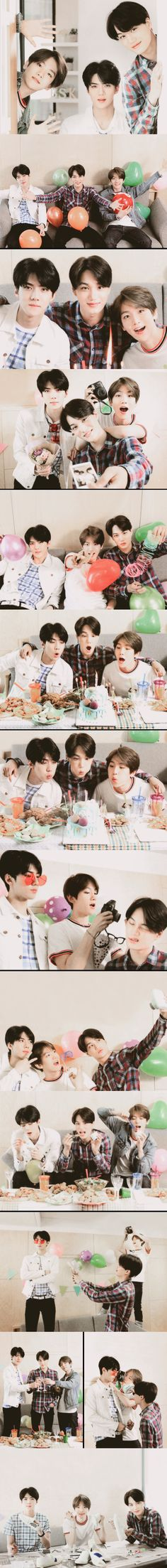 Official EXO-L Japan Book Vol.2 : BAEKHYUN KAI SEHUN
