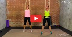 The 20-Minute Total-Body Cardio Workout #cardio #workout http://greatist.com/move/bodyweight-cardio-workout-video