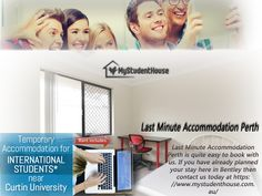 https://www.mystudenthouse.com.au/ is the best place to find cheap accommodation in Perth WA, without you having to run everywhere else in the market. https://mystudenthouse0.wordpress.com/2016/09/22/consider-these-points-when-looking-for-cheap-accommodation-in-perth/