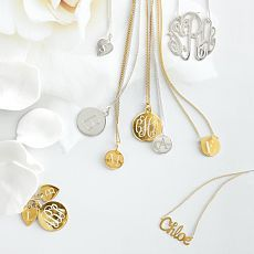 A personalized necklace is a thoughtful (and stylish!) gift for a new mom.