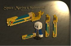 Chainsword from Warhammer 40k.