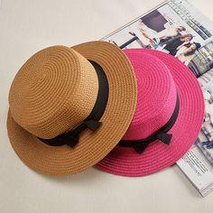 2016 New Summer Straw hat For Men Women  Flat Top Boater Sailor Hat Trilby Cap Unisex wholesale♦️ B E S T Online Marketplace - SaleVenue ♦️👉🏿 http://www.salevenue.co.uk/products/2016-new-summer-straw-hat-for-men-women-flat-top-boater-sailor-hat-trilby-cap-unisex-wholesale/ US $4.99