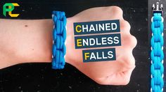 Chained Endless Falls Paracord Bracelet