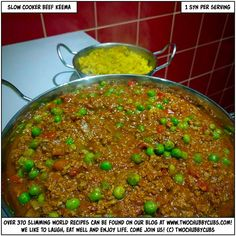 PLEASE LIKE AND SHARE! Slow cooker beef keema! The slow cooking makes for a rich, spicy dinner that is full of flavour and really hits the spot for that takeaway urge! Remember, at www.twochubbycubs.com we post a new Slimming World recipe nearly every day. Our aim is good food, low in syns and served with enough laughs to make this dieting business worthwhile. Please share our recipes far and wide! We've also got a facebook group at www.facebook.com/twochubbycubs - enjoy!