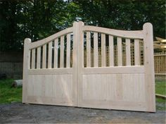 Bespoke Hardwood Entrance Gate