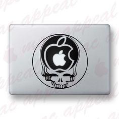 Grateful Dead Mac decal