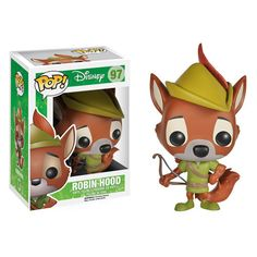 2014 Funko Pop Disney Robin Hood vinyl figures info, checklist, shopping guide, gallery and more. Characters include Robin Hood, Prince John and Sir Hiss. Funk Pop, Disney Pop, Film Disney, Disney Stuff, Disney Pixar, Figurine Pop Disney, Pop Figurine, Funko Pop Toys, Funko Pop Vinyl