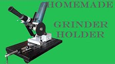 (3) homemade angle grinder stand - YouTube