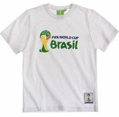 Boys Official Fifa World Cup Brasil 2014 T Shirt Kids Brazil Top New Years World Cup 2014, Fifa World Cup, News 2, Brazil, Boys, Mens Tops, T Shirt, Baby Boys, Supreme T Shirt