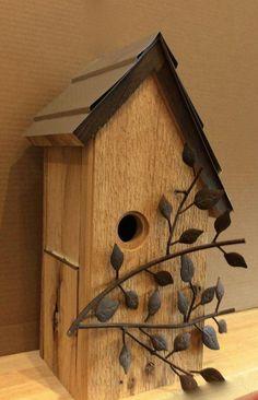 Bird House Kits Make Great Bird Houses Bird House Plans, Bird House Kits, Bird House Feeder, Bird Feeders, Birdhouse Designs, Bird Aviary, Bird Boxes, Shabby, Kinds Of Birds