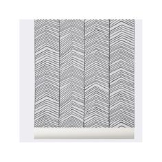 "You'll love the Ferm Living WallSmart Hand Printed Chevron 32.97' x 20.87"" Geometric Wallpaper at AllModern - With Great Deals on modern Décor  products and Free Shipping on most stuff, even the big stuff."