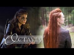 The 100 Hair Tutorial - Octavia - YouTube