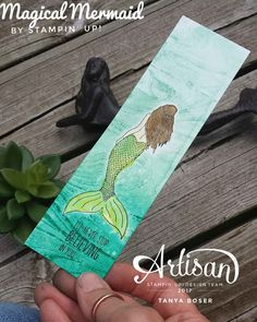 Tinkerin In Ink with Tanya: Inky Friends New Annual Catalog Blog Hop: Magical Mermaid