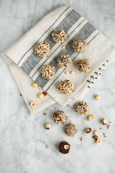 Super easy Nutella truffles