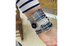 An inspiring flannel bracelet https://www.rodalesorganiclife.com/home/best-recycled-flannel-products/slide/5