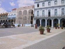 Plaza Vieja Havana Cuba -  renovations