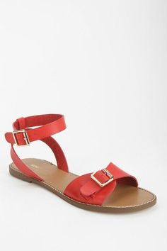 BDG Brighton Ankle-Wrap Sandal #urbanoutfitters