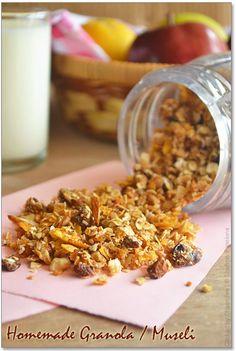 Homemade Museli / Granola Recipe