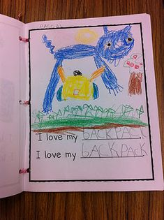 Pete the cat writing. This was my kindergarten class favorite book to read. Kindergarten Writing, Kindergarten Literacy, Kindergarten Activities, Writing Activities, Classroom Activities, Preschool Books, September Activities, Group Activities, Writing Ideas