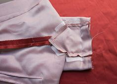 Sleeve gussets are often seen in garments and sewing patterns from the 50's era, where kimono sleeves gave the then-desired sloping shoulder line. A problem with kimono sleeves – where…